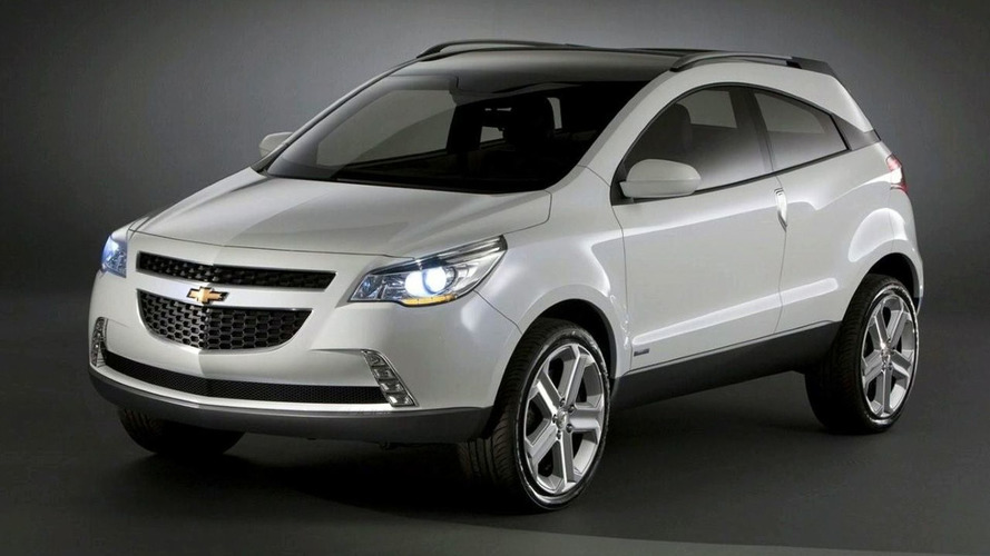 OFFICIAL: Chevrolet Reveals GPiX Crossover Coupe Concept in Brazil