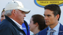 Rick Hendrick and Jeff Gordon