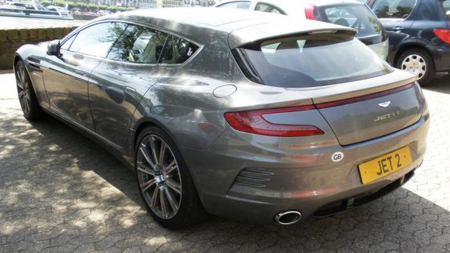 One-off Aston Martin Jet 2+2 spotted in Germany