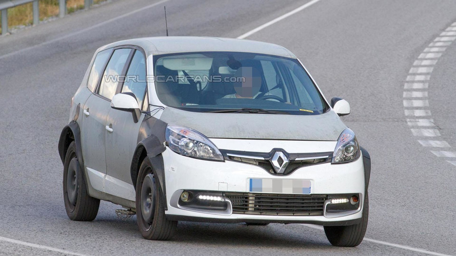 2017 renault grand scenic mule spied for the first time. Black Bedroom Furniture Sets. Home Design Ideas