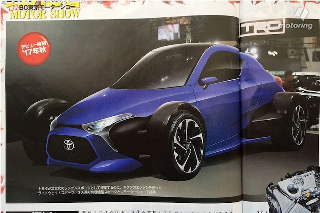 This Open-Wheel Toyota Concept Looks Like Tons of Fun (If It's Real)