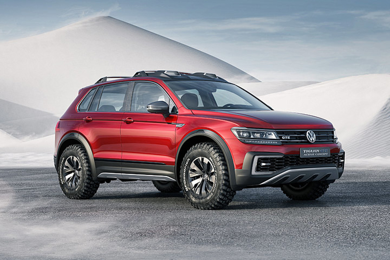 Volkswagen Tiguan GTE Active Concept: 5 Things to Know