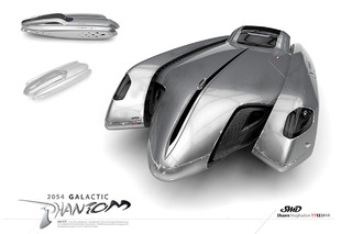 Like This Futuristic Flying Car? You Could Win a 3D Printed Version