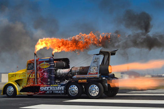 The Shockwave Jet Truck is Over 100mph Faster than a Bugatti Veyron