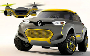 French 4x4 Concept Comes with its Very Own Drone [w/ video]