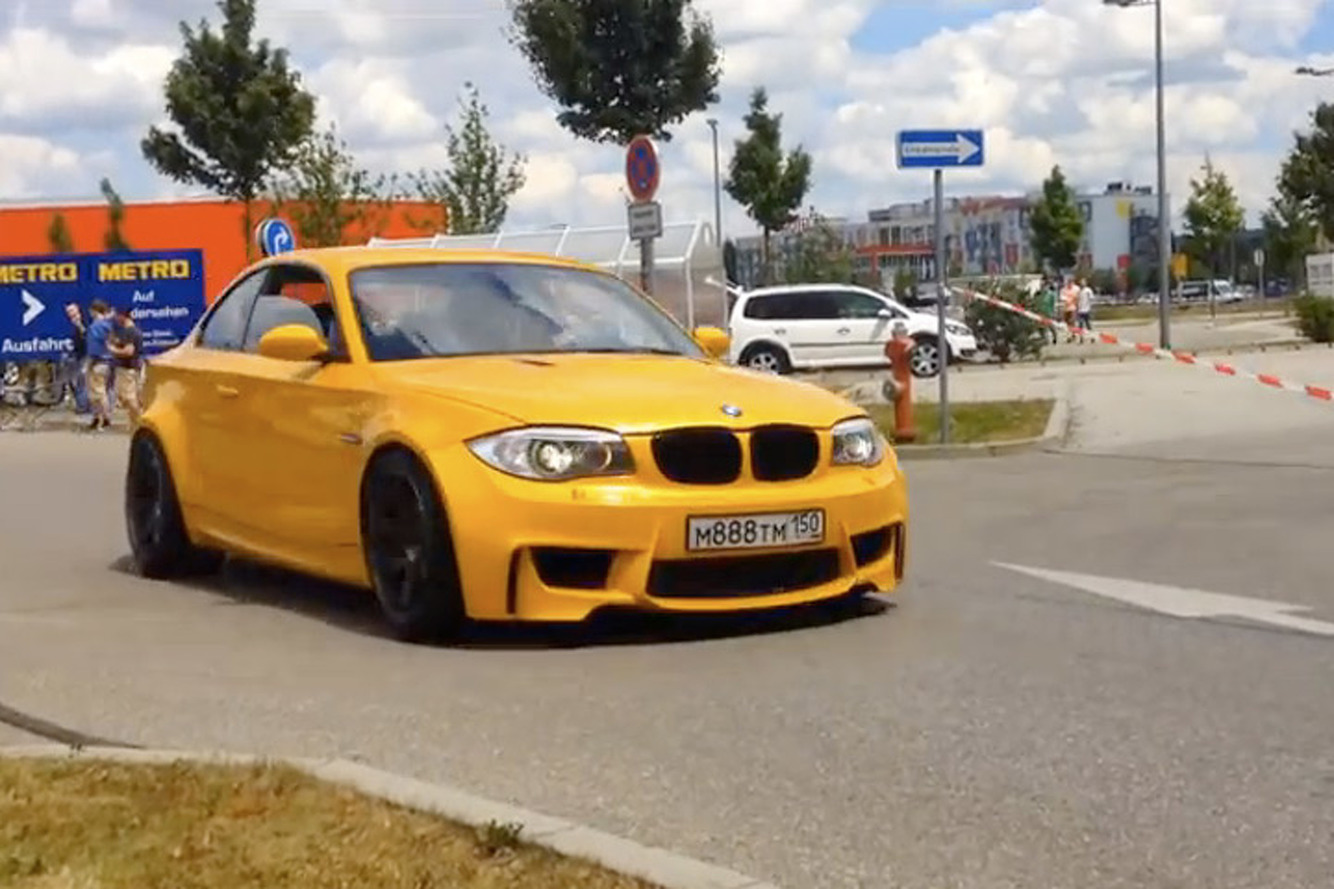 This V8-Swap BMW 1M Sounds Better than a Lamborghini