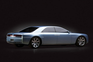 Slick 2002 Lincoln Continental Concept Is Going Up For Auction