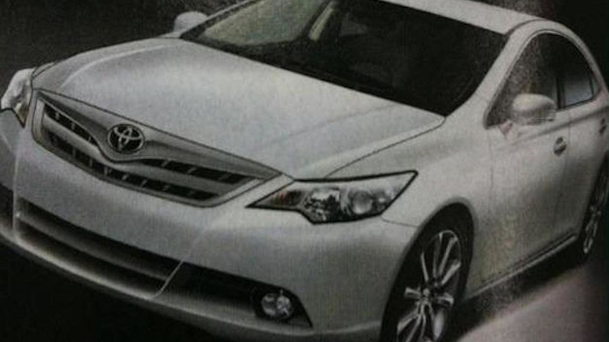 New 2012 Toyota Camry image allegedly leaked
