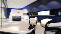 Bugatti shows off new showroom, says Chiron is generating