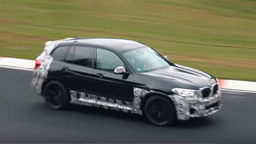 2019 BMW X3 M spied in new 'Ring video