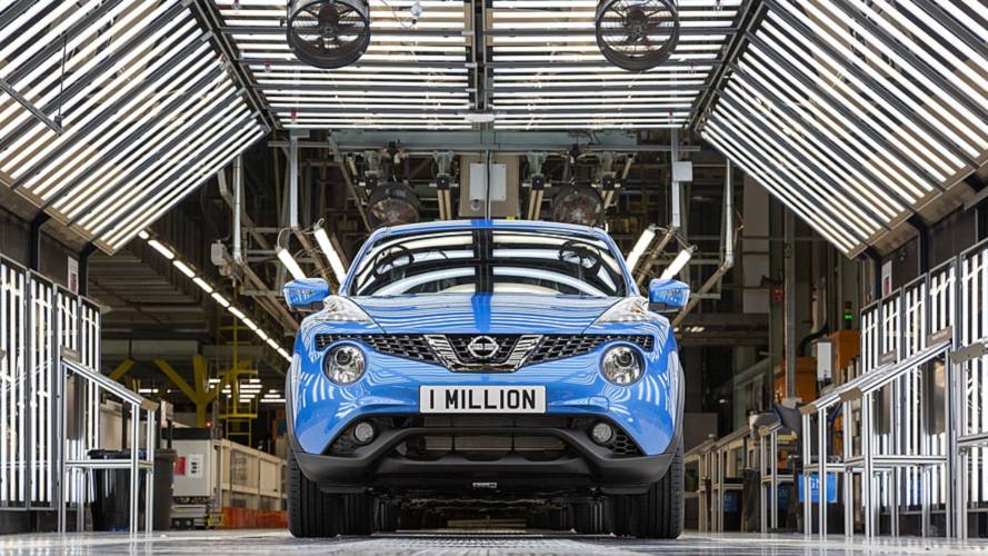 One Millionth Nissan Juke Produced