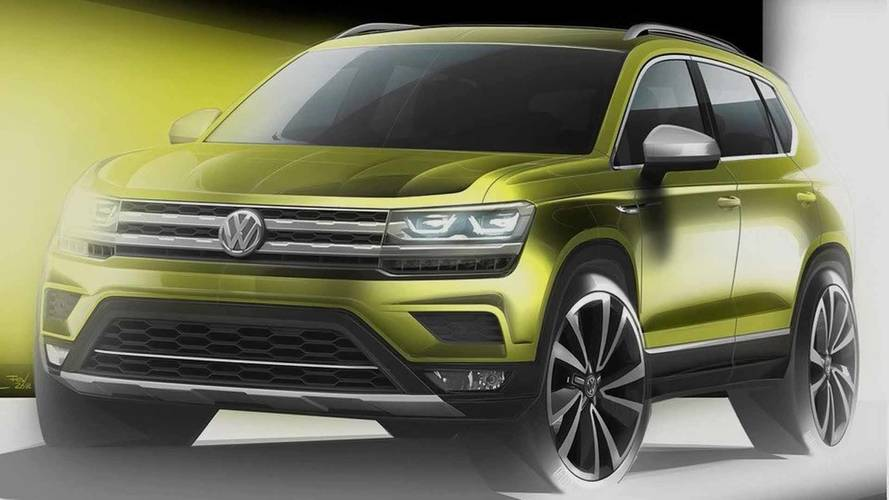 VW Volks-SUV Teaser