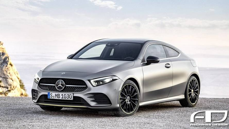 2019 Mercedes A-Class Coupe And Hot A45 Hatchback Rendered