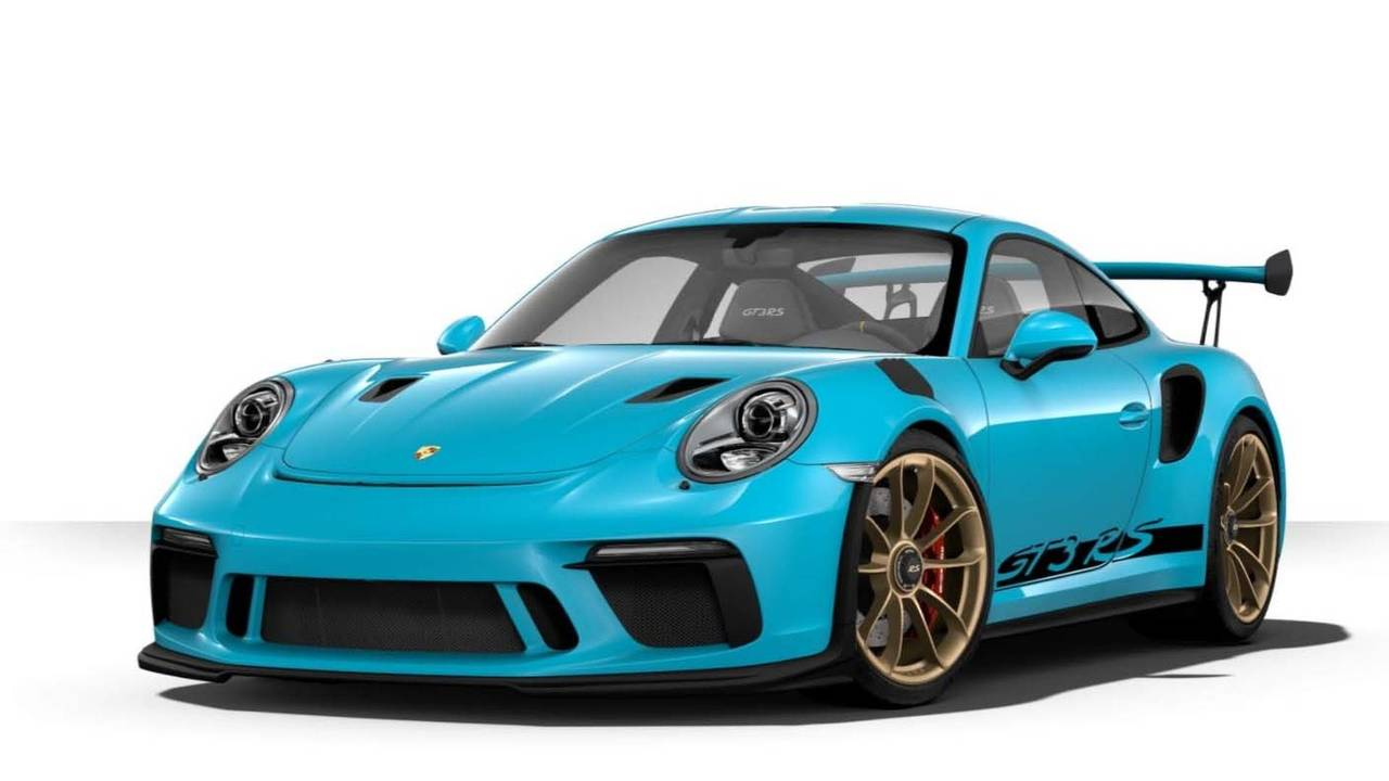 Porsche 911 GT3 RS Colors