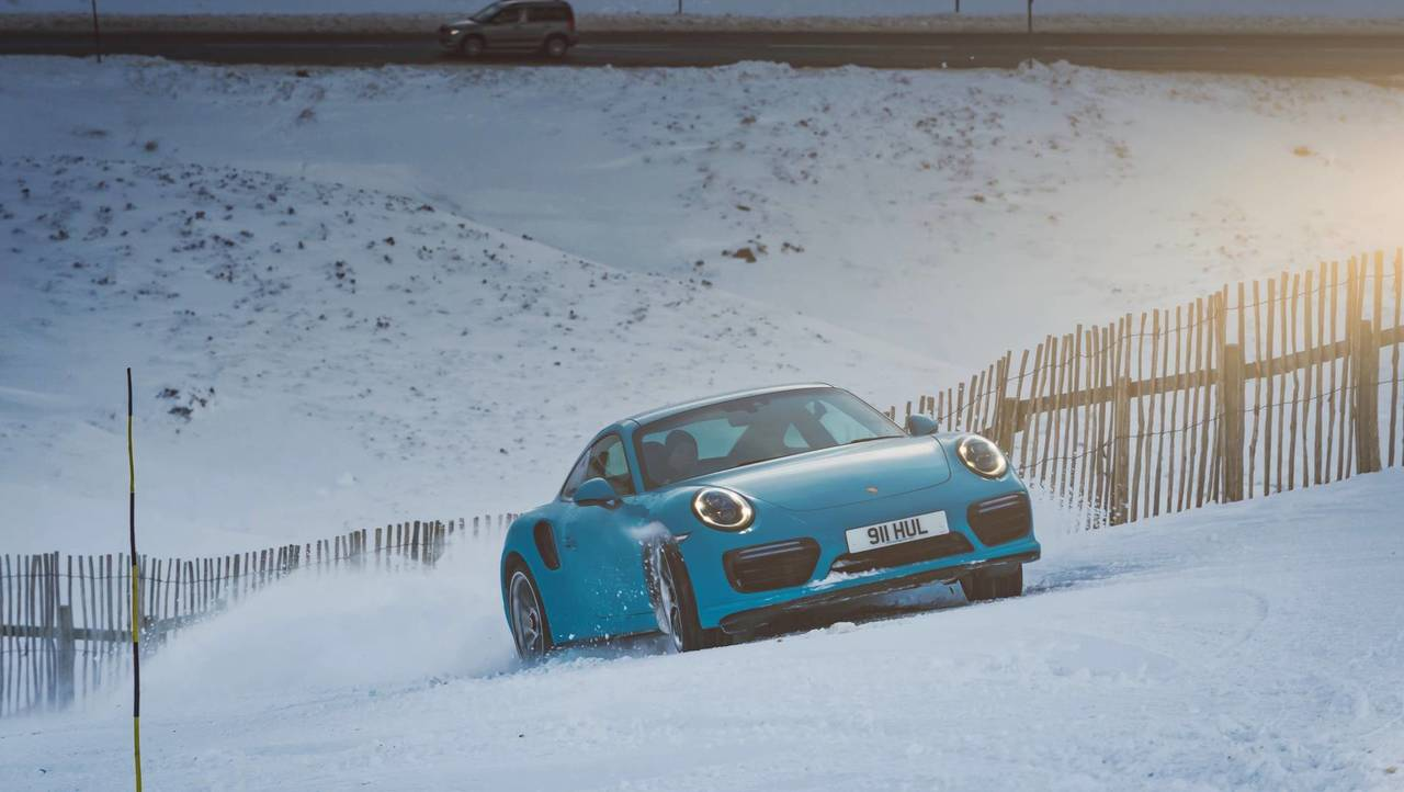 Porsche 911 Turbo S Puts Awd To Work By Hustling Up A Ski