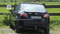 2011 Ford Fiesta sedan spy photo