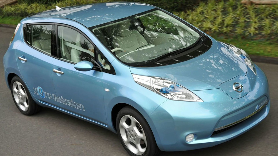 Nissan Leaf wins European Car of the Year award