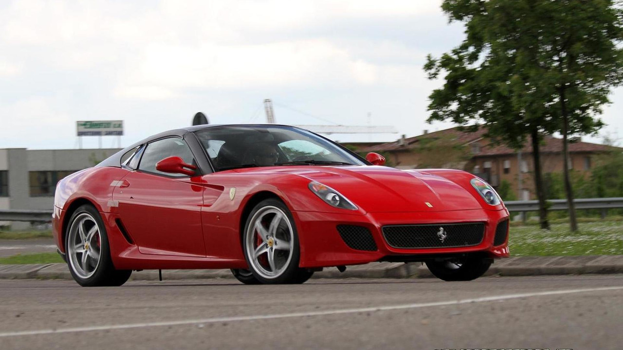 Ferrari 599 Spyder spy photo
