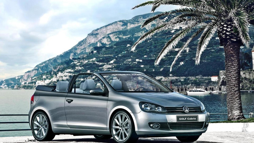 2012 Volkswagen Golf Cabrio rendered