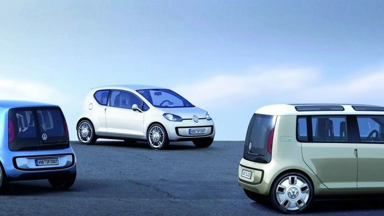 Volkswagen Up range