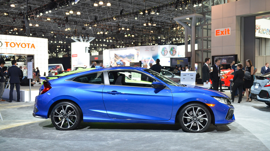 Honda Civic Si, 205 bg ile New York'a geldi