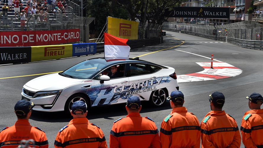 Honda Clarity Fuel Cell Driven By Prince Of Monaco