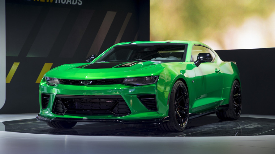 Camaro SS Confirmed As Holden's Halo Car In 2018