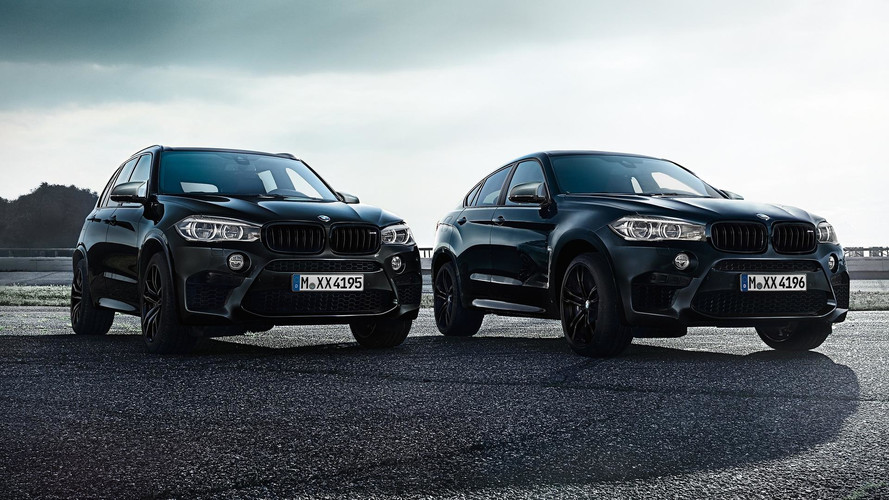 BMW X5 M & X6 M Black Fire Edition - Allemands sauvages