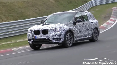 2018 BMW X3 Spied Going All Out During Nurburgring Test