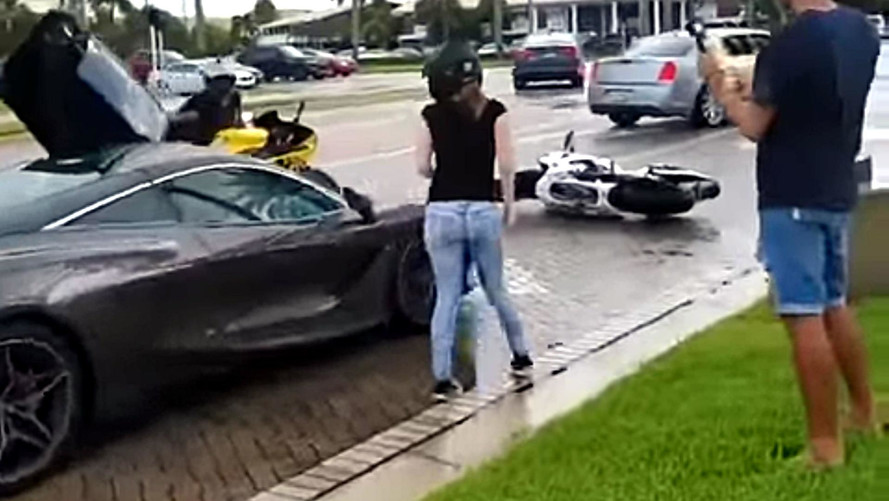 McLaren 720S Involved In Road Rage Incident With Biker