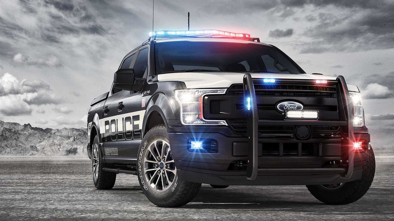 Ford Transit 150 >> 2018 F-150 Police Responder Is The Latest Pursuit-Rated Ford