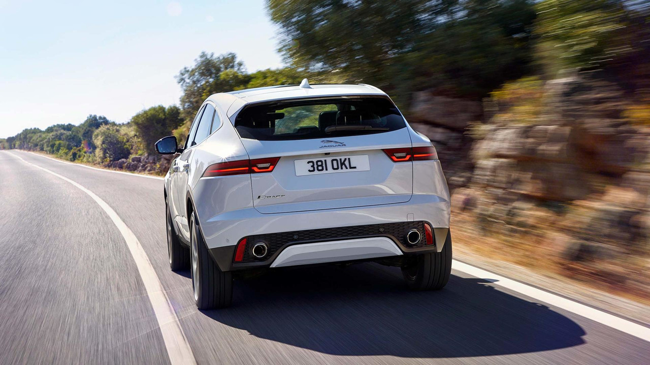 2018 jaguar e pace everything you wanted to see in 5 videos. Black Bedroom Furniture Sets. Home Design Ideas