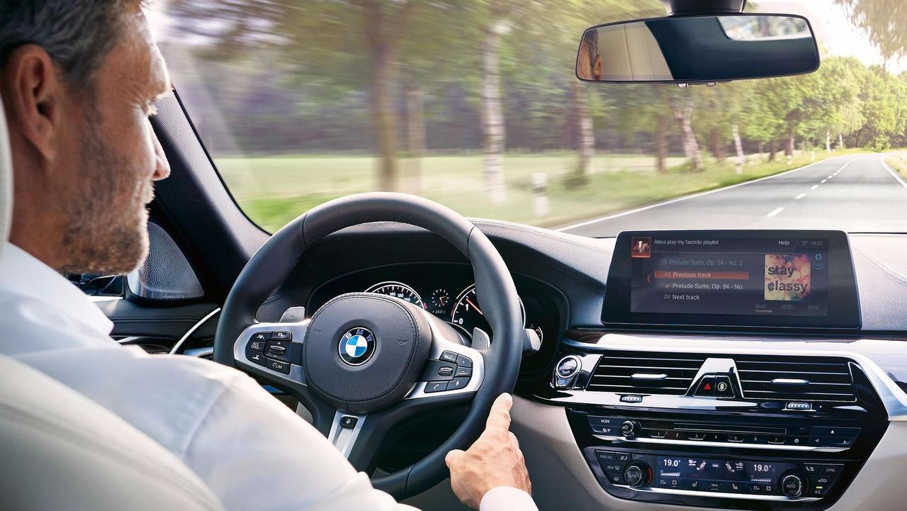 BMW With Amazon Alexa