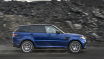 Land Rover Range Rover Sport SVR low friction surfaces test