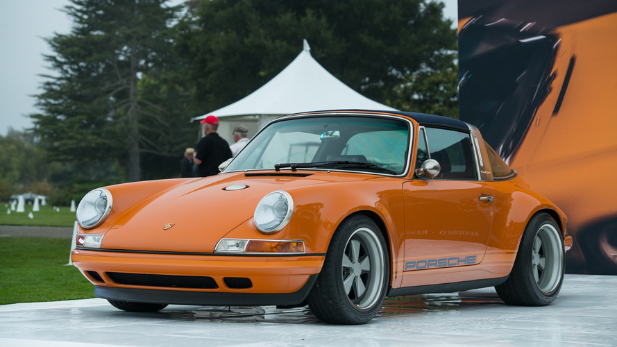 Stunning Porsche 964 Targa reimagined by Singer takes the stage in Monterey