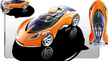 Lotus Hot Wheels Concept sketch