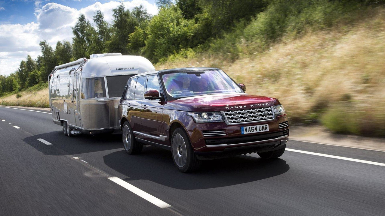 Land Rover Transparent Trailer / Cargo Sense system