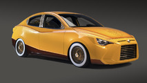 Eddie Huang creates a custom Scion iA for SEMA