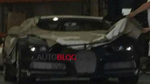Bugatti Chiron spy photo