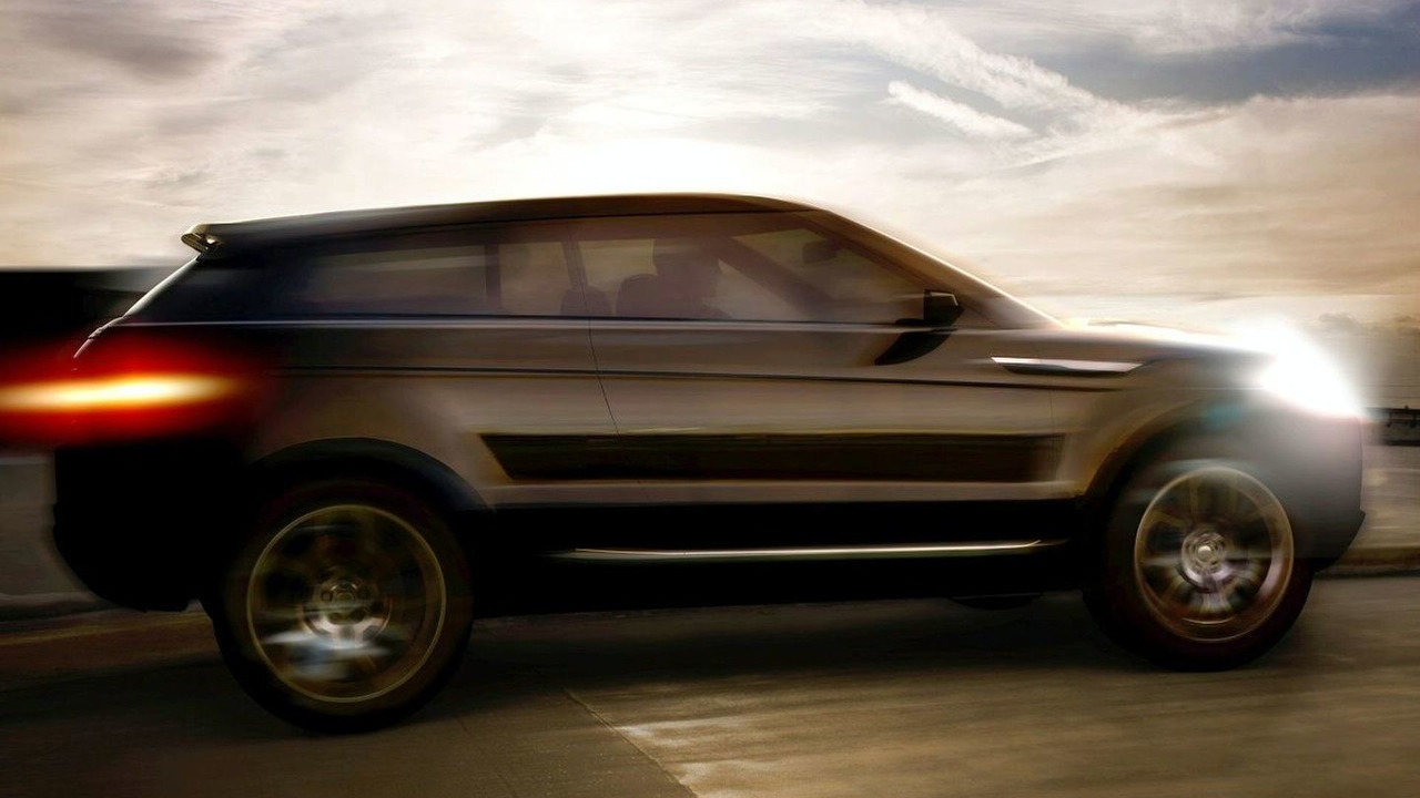 New Land Rover Coupe SUV design sketch