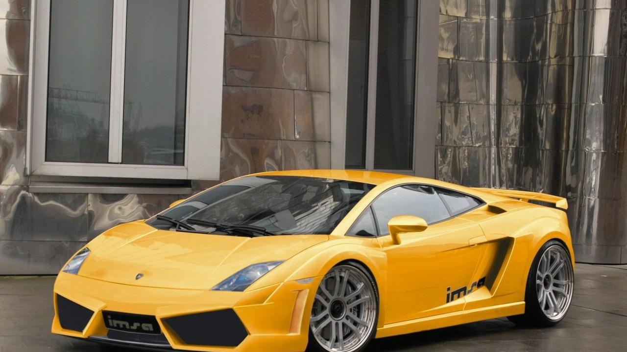 IMSA GTV kit for Lamborghini Gallardo LP 560
