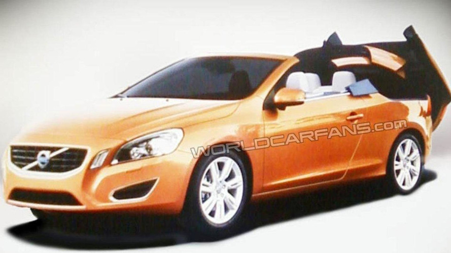 Volvo S60 convertible image leaked