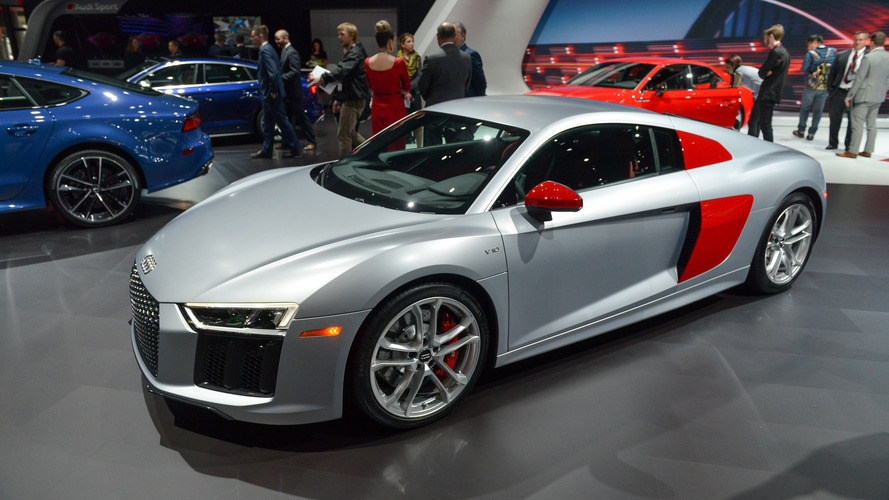 audi sport edition r8 colorfully introduces new performance brand. Black Bedroom Furniture Sets. Home Design Ideas