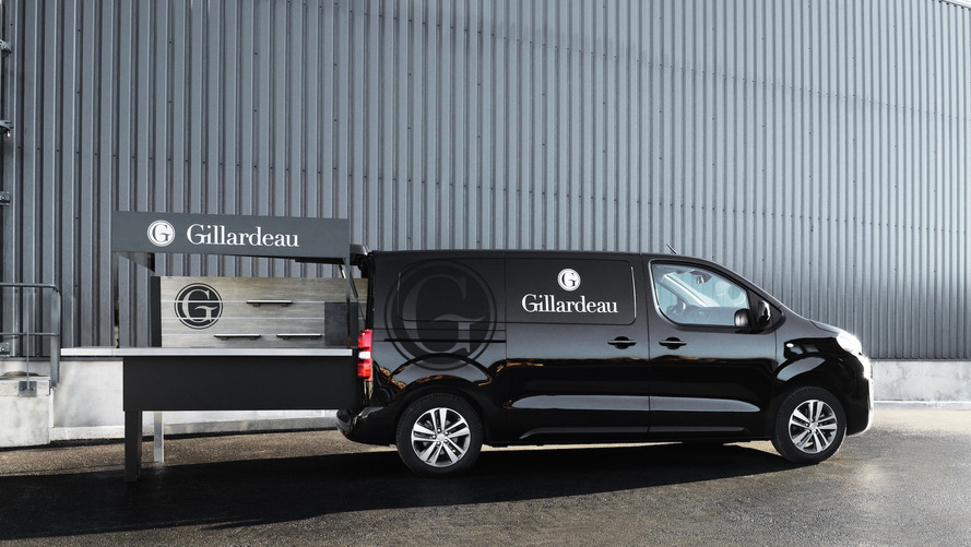Peugeot Built The Black Pearl Of Food Trucks For An Oyster Farmer