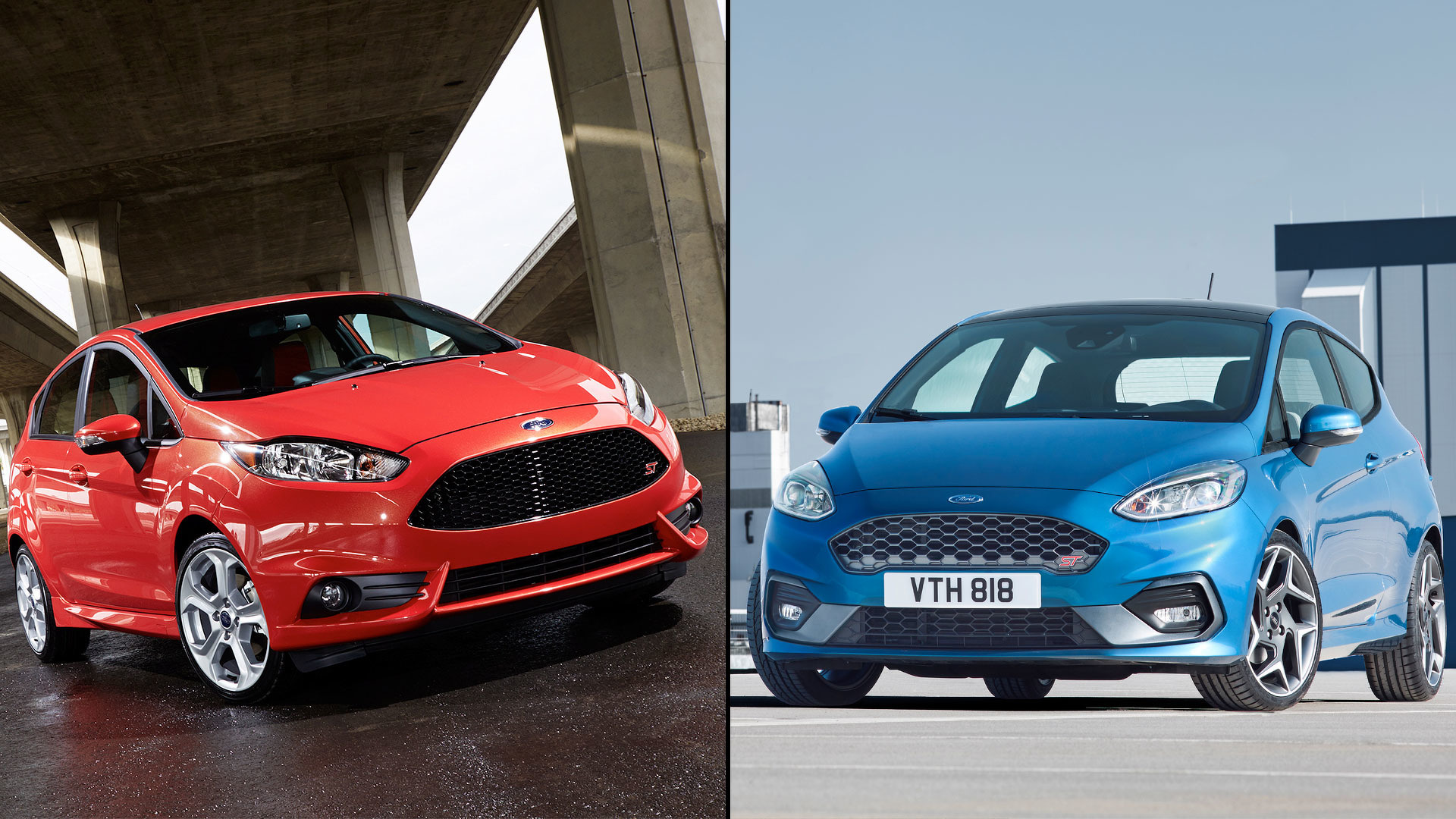 old vs new how the ford fiesta st has changed. Black Bedroom Furniture Sets. Home Design Ideas