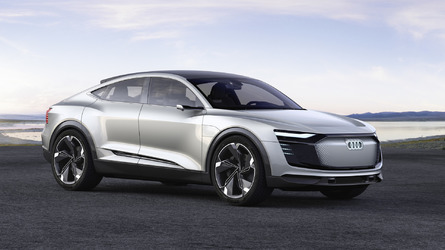 Audi E-Tron Sportback Concept Has Hundreds Of LEDs