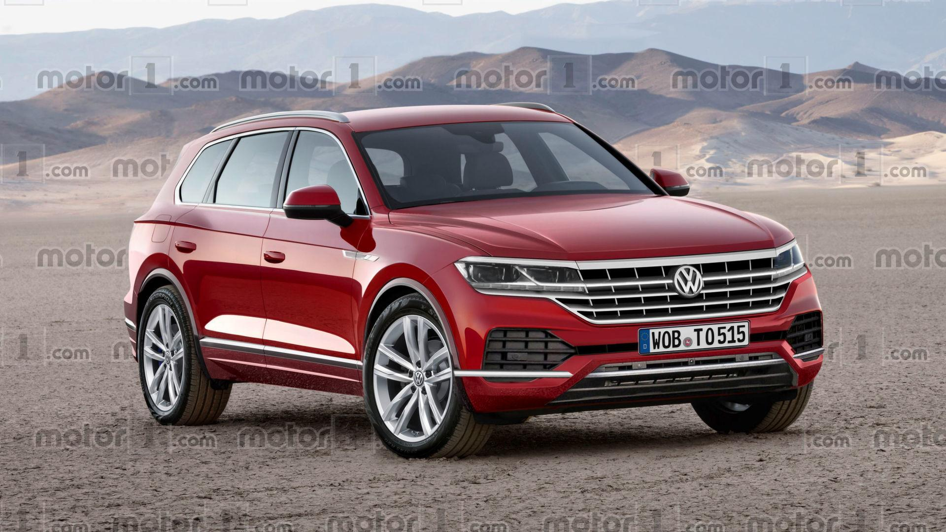 2018 vw touareg will probably look a lot like this. Black Bedroom Furniture Sets. Home Design Ideas