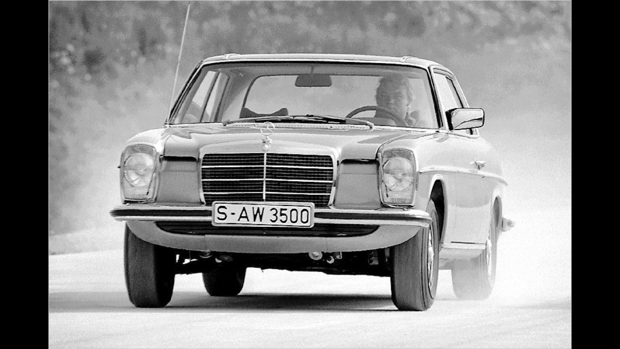 1969-1976: Mercedes W 114 Strich-Acht Coupé
