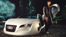 Will Smith and the Audi RSQ in