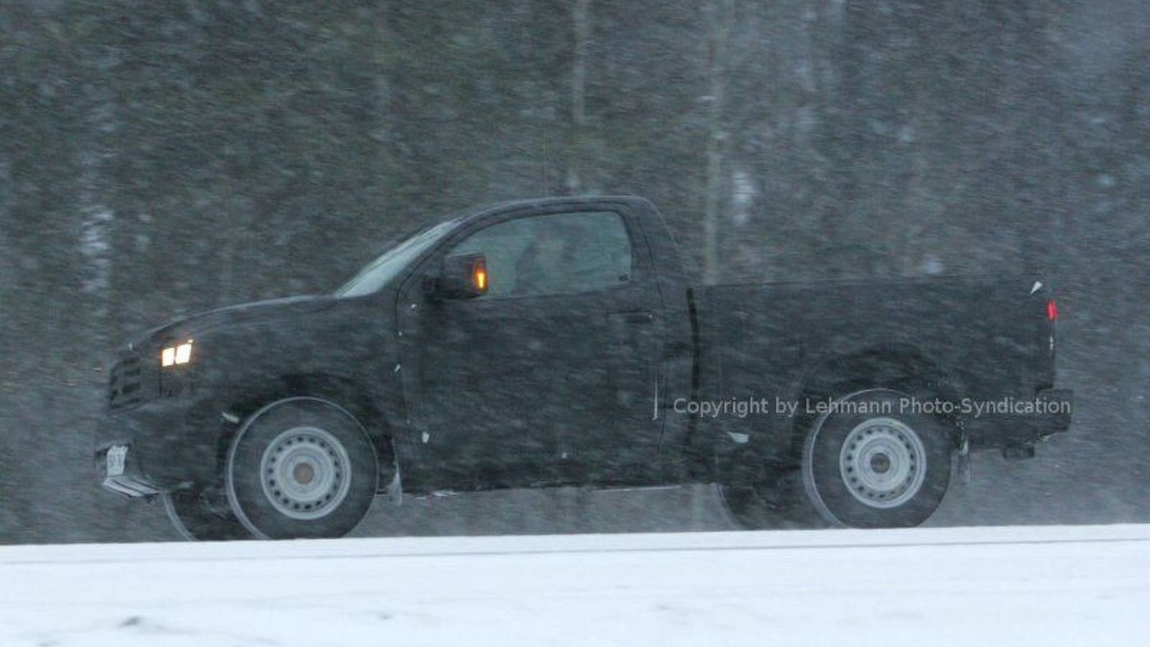New Toyota Tundra - first pictures